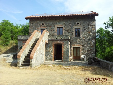 P115 Rustic stone house