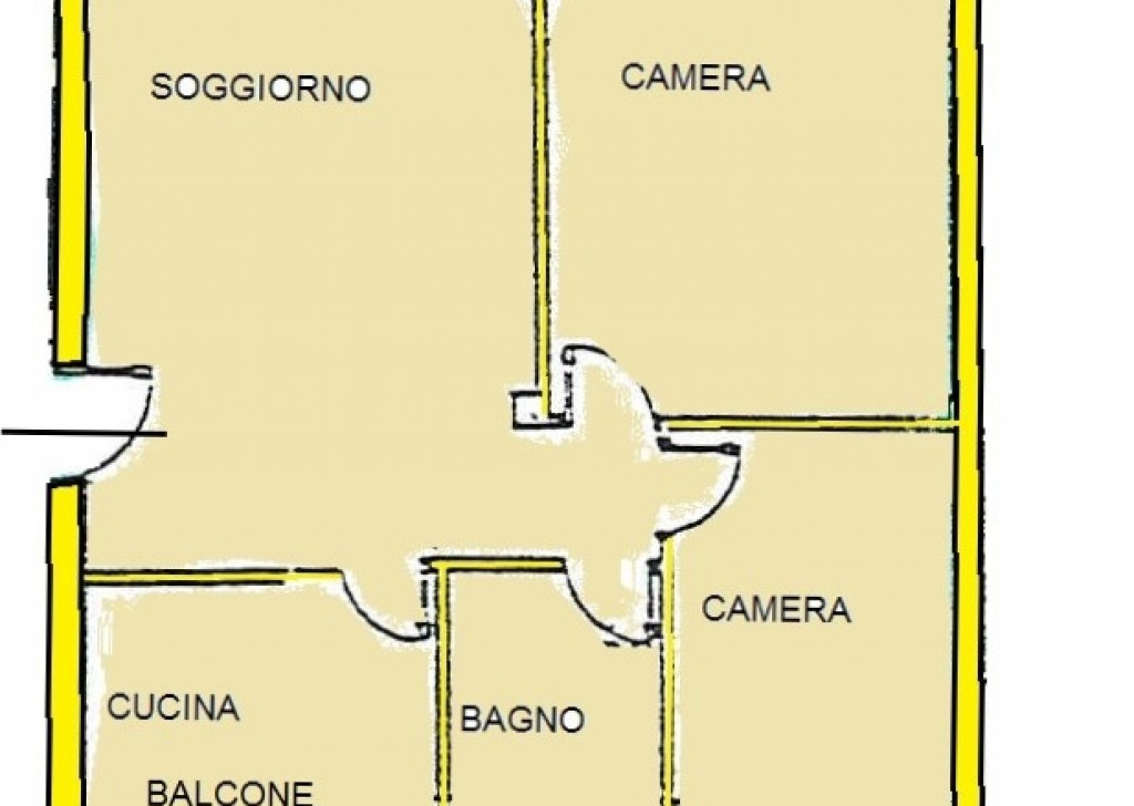 Sale Apartments Villafranca in Lunigiana - A394 Recently built flat Locality