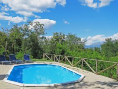 A490 house in the village with pool - 3