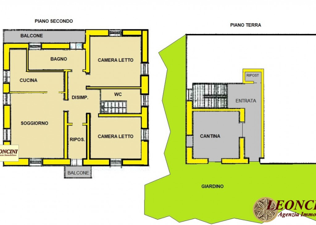 Sale Apartments Villafranca in Lunigiana - A333 Semi-detached apartment with garden Locality